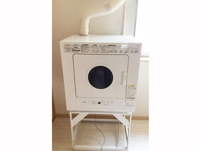 雨の日も安心すばやくガスで乾燥 ガス衣類乾燥機
