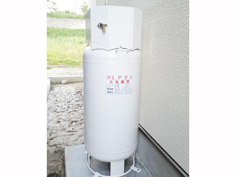 ガス供給用 家庭用バルク貯槽