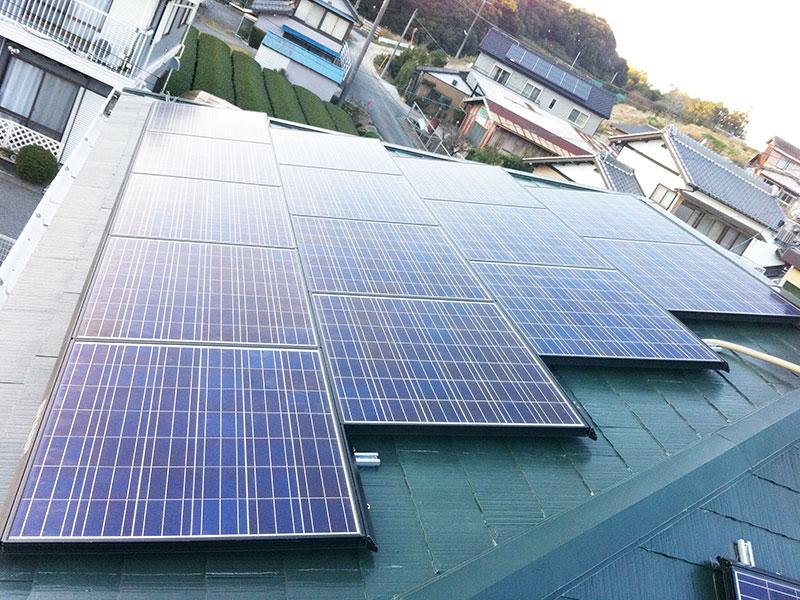 太陽光発電 菊川市 シャープ