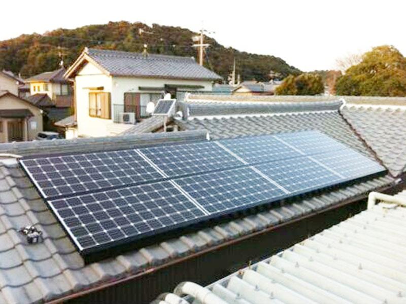 太陽光発電 牧之原市 三菱