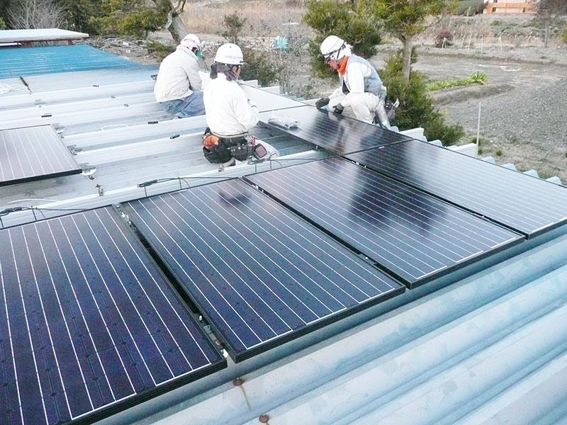太陽光発電 牧之原市 リクシル