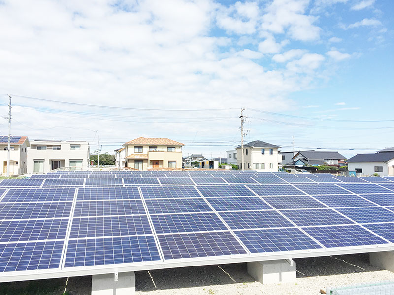 太陽光発電 御前崎市 ジンコー+SMA