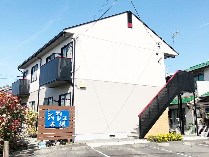 外壁塗装 牧之原市 共同住宅