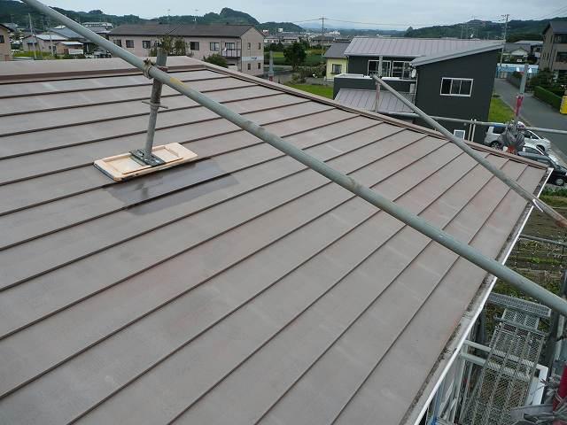塗装前の屋根の状況です